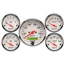 5 pc gauge kit 3 1 8