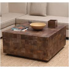 36 square coffee table modern rustic furniture solid wood 36 square coffee table