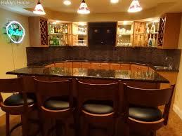 Basement Bar DIY Backsplash  Puddys House - Bar backsplash