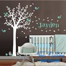 huge wall decals large wall tree nursery decal oak branches 1130