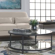 studio designs home camber round coffee table pewter walmart com