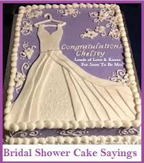 Wedding Cake Quotes Classic Cake Wordings Bridal Shower Cake