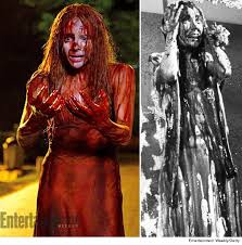 Carrie Halloween Costume Carrie U201d Remake Check Bloody Prom Dress 97 9 Beat