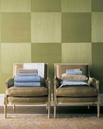 Green Bedroom Wall What Color Bedspread Green Rooms Martha Stewart