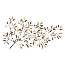 decmode silver stem branches wall sculpture hayneedle