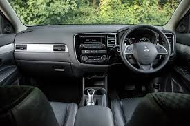 mitsubishi interior mitsubishi outlander phev 2015 review by car magazine