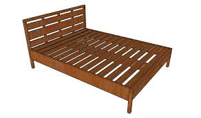 Plans For Wood Platform Bed by Queen Size Howtospecialist How To Build Step By Step Diy Plans