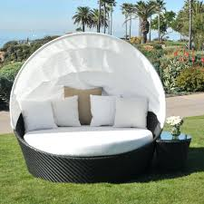 round lounge chair outdoor cushions round double chaise lounge