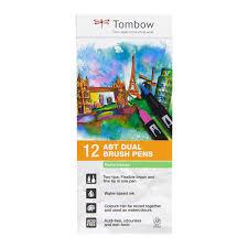 Pastel Colours Tombow Abt Dual Brush Pen 12set Pastel Colors U2013 Markers N Pens