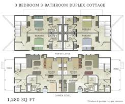 3 bedroom 3 bathroom house plans delightful ideas 3 bedroom duplex house plans for narrow lots