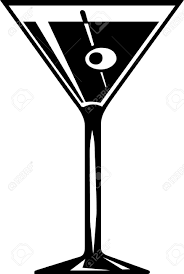 pink martini drawing martini cocktail royalty free cliparts vectors and stock