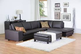 sandusky home interiors sandusky brown leather large storage ottoman hinged with wood