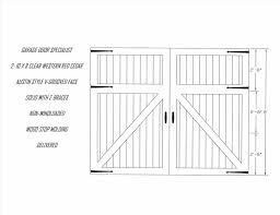 Standard Size Garage Garage Molding Ideas Deluxe Home Design