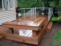 horizontal wood deck railing ideas wood deck covering ideas