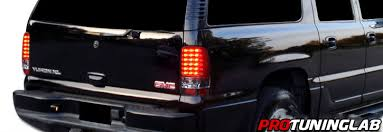 2006 silverado tail light assembly 00 06 chevy denali yukon tahoe suburban euro led tail lights