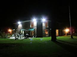 commercial led flood lights led flood light creat a quiet house in the evening led flood light