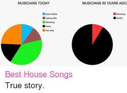 House Music Memes - musicians today social media caking skills marketing music hair