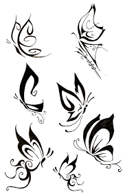 tribal butterfly tattoo image photos pictures and sketches