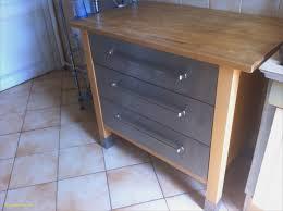 table cuisine bois brut element de cuisine ikea élégant meuble cuisine en bois brut
