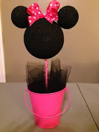 minnie mouse center pieces minnie mouse centerpieces denisemaycreations