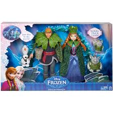 disney frozen deluxe troll wedding set walmart com