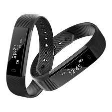 activity bracelet images Id115 smart bracelet fitness tracker black jpg
