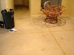 Tile On Concrete Basement Floor by Concrete Basement Floor Ideas