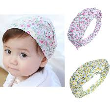 hair accessories for babies baby kids girl hair accessories cotton infant floral headbrand