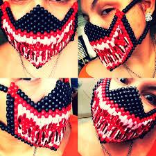 kandi mask 37 awesome kandi mask patterns images ideas for the house