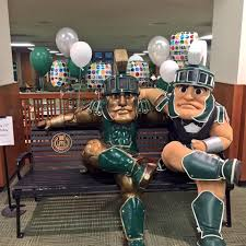 Michigan Sparty Halloween Costume Sparty