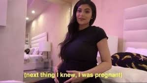Pregnant Girl Meme - this picture of pregnant kylie jenner is a hilarious thirst trap