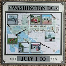 washington dc photo album washington dc scrapbook page 12x12 layout album cover page