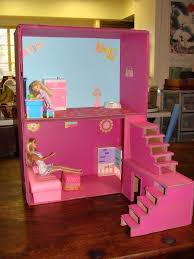 Barbie Dollhouse Plans How To by Dollhouse From Boxes And Cardboard 5 Steps