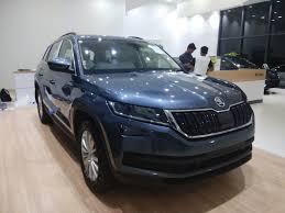 skoda kodiaq price škoda auto india launches the all new kodiaq suv in goa