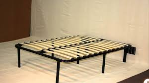 bedroom cool black wood stained full platform bed frame queen