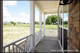 types of porch railing new home exterior ideas