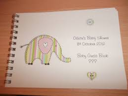 what to write in baby book for baby shower gallery craft design