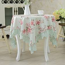 round table cloth covers new european elegant lace tablecloth embroidery table cloth home