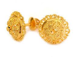 saudi arabia gold earrings gold tops earring t c jewellers wholesale trader in rk puram