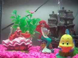 disney the mermaid aquarium