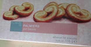 palmier du chili a l u0027heure de palmiers pur beurre picard 16 biscuits 115 g e