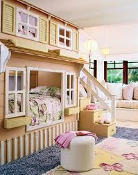 Teenage Bedroom Ideas by Cute Girls Bedroom Ideas With Unique Bunk Beds