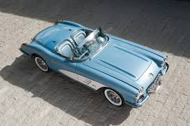 vintage corvette blue 1960 chevrolet corvette