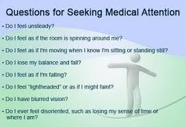I Feel Light Headed Balance Disorders Vertigo Motion Sickness Labyrinthitis And More