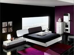 amazing purple bedroom ideas with sparkling white galaxy painting