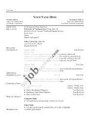 Fresher Resume Headline Examples by Resume 87 Marvellous Sample Format Outstanding Free 89 Marvelous