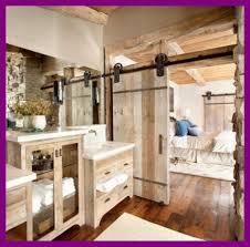 cottage bathroom ideas stunning aged wooden sliding doors for cottage bathroom