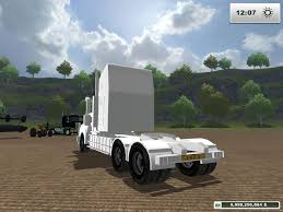 kenworth trucks bayswater kenworth t908 custom white v1 modhub us