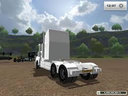 kenworth trucks bayswater kenworth t908 custom white v1 modhub us
