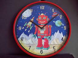 cool robot wall clock 133 robot wall clock wall clocks various